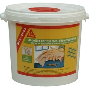 SIKA CLEAN LINGETTES NETTOYANTES