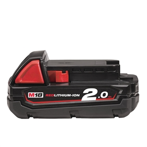 BATTERIES M18 B2 18V 2.0H RED LI-ION - SYSTÈME M18