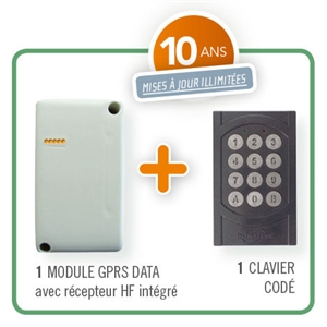 INTRABOX DATA MINI RECEPTEUR HF  A/ CLAVIER -10 ANS