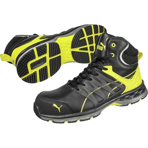 CHAUSSURE VELOCITY YELLOW MID S3 ESD HRO SRC