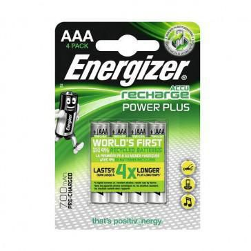 PILE RECHARGEABLE AAA LR03 1.2V POWER PLUS (x4)