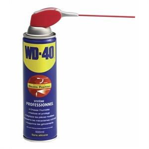 WD 40 AEROSOL DOUBLE POSITION - 500ML