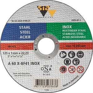 DISQUE A EBARBER  8411 SIAGRIND STEEL