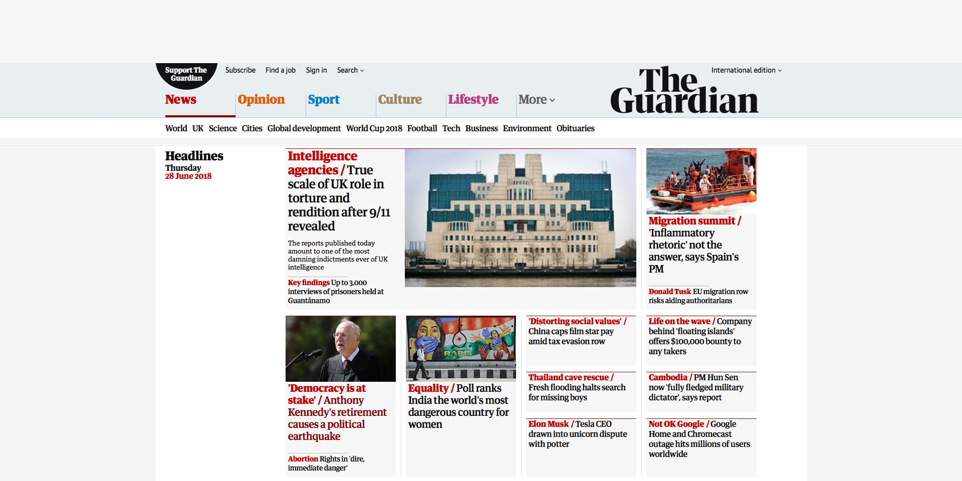 The Guardian (international edition)