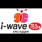I-wave 76.5 FM's logo'