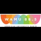 WAMU's logo'