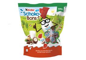 Visuel Kinder Schoko-bons