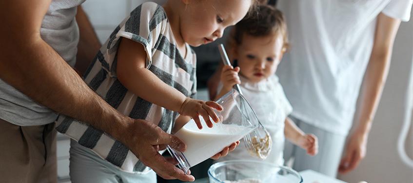 10 bonnes raisons de passer du temps, en cuisine et en famille !