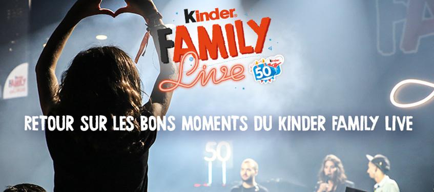 Kinder Family Live: enfin les images !