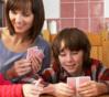 Les jeux de carte à « disputer » en famille.