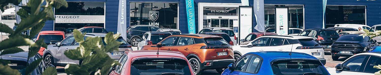 Localisation des concessions et garages du Groupe Nomblot