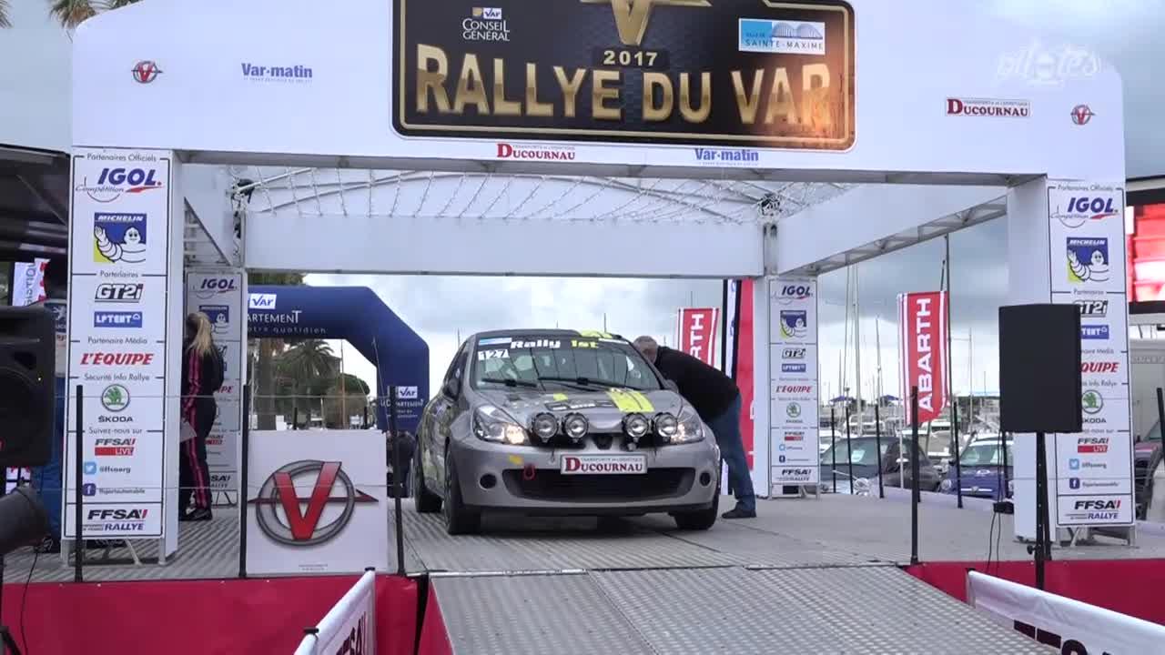 SARRAZIN Michel  Rallye du Var 2017