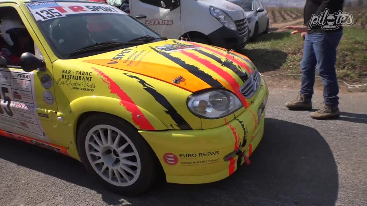 RAGA Luc  Rallye des vignes 2018