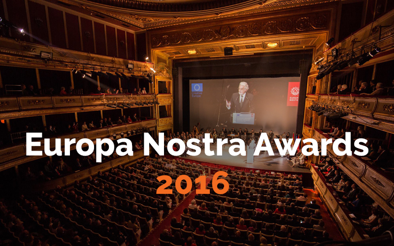 Europa Nostra Awards 2016 ai…