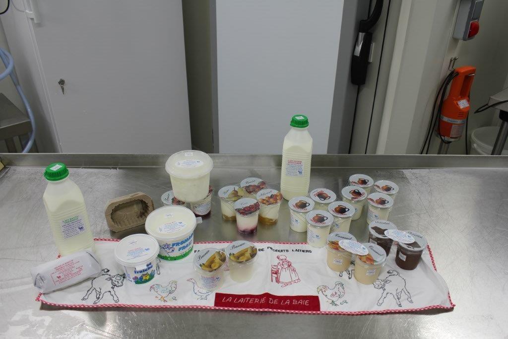 nos produits laitiers