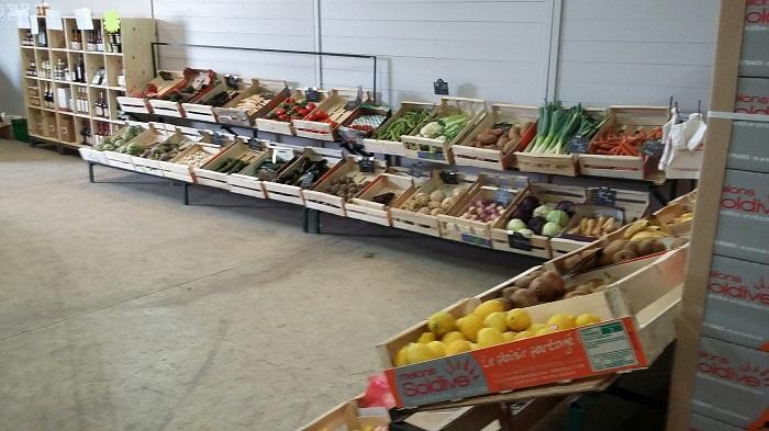 fruits et légumes vente locale