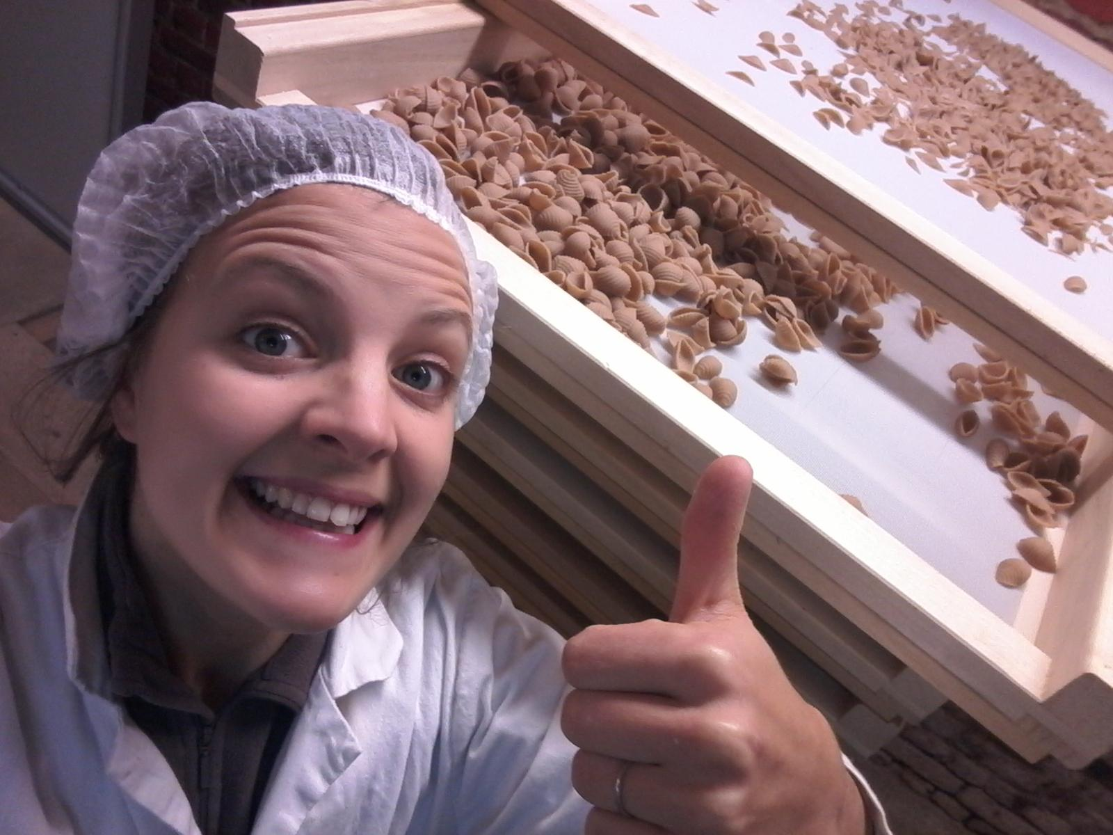 fabrication de pâtes sèches