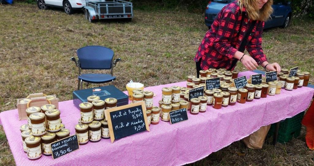 Vente miel dans le Vexin (Val d'Oise)