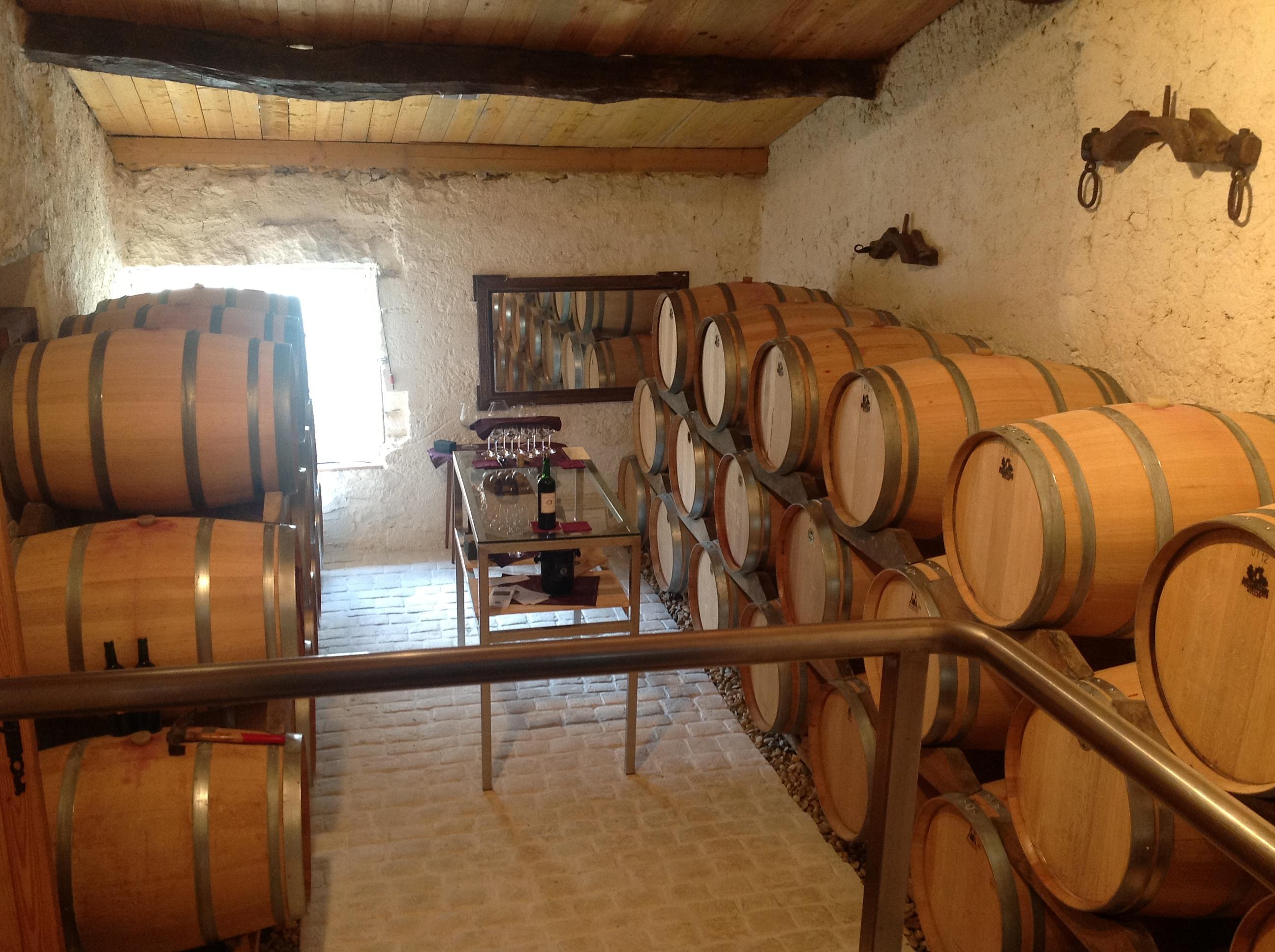 Elevage des vins en barrique
