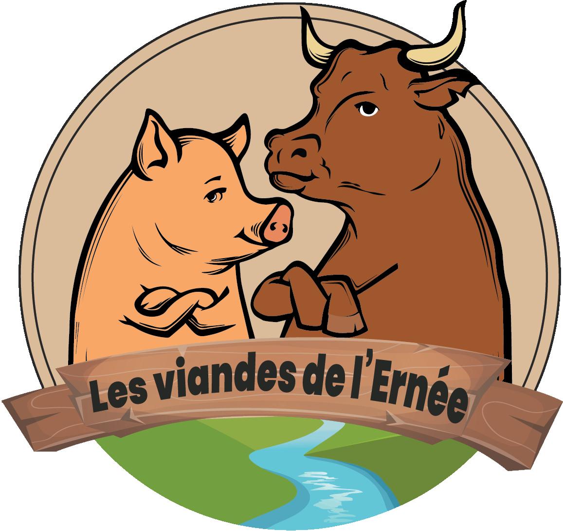 Les viandes de l'Ernée -  Vente locale de produits  fermiers - Viande de bœuf et porc en Mayenne