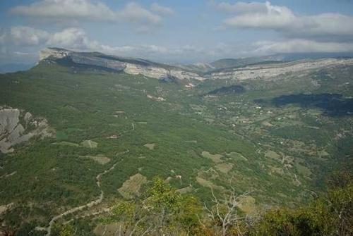 vue aérienne du secteur où je vis