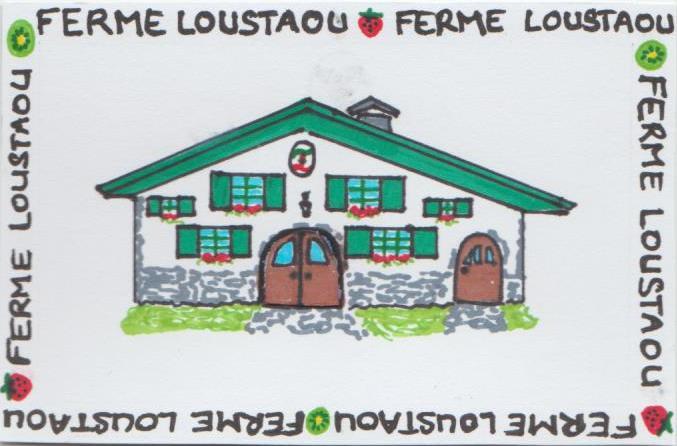 Logo de la Ferme Loustaou