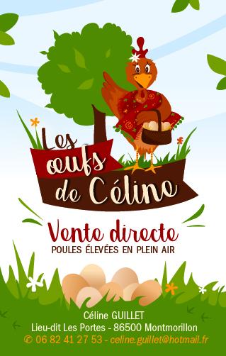 Les oeufs de Céline