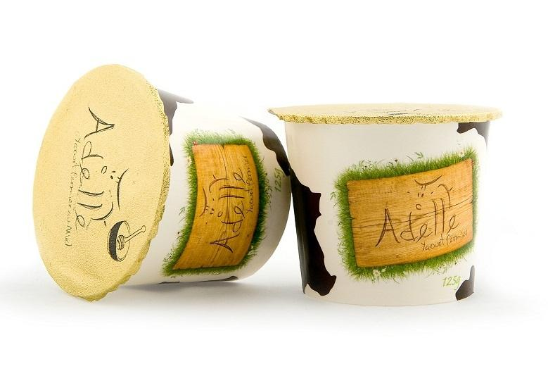 Yaourt Adelle au Miel fabriqué à la ferme