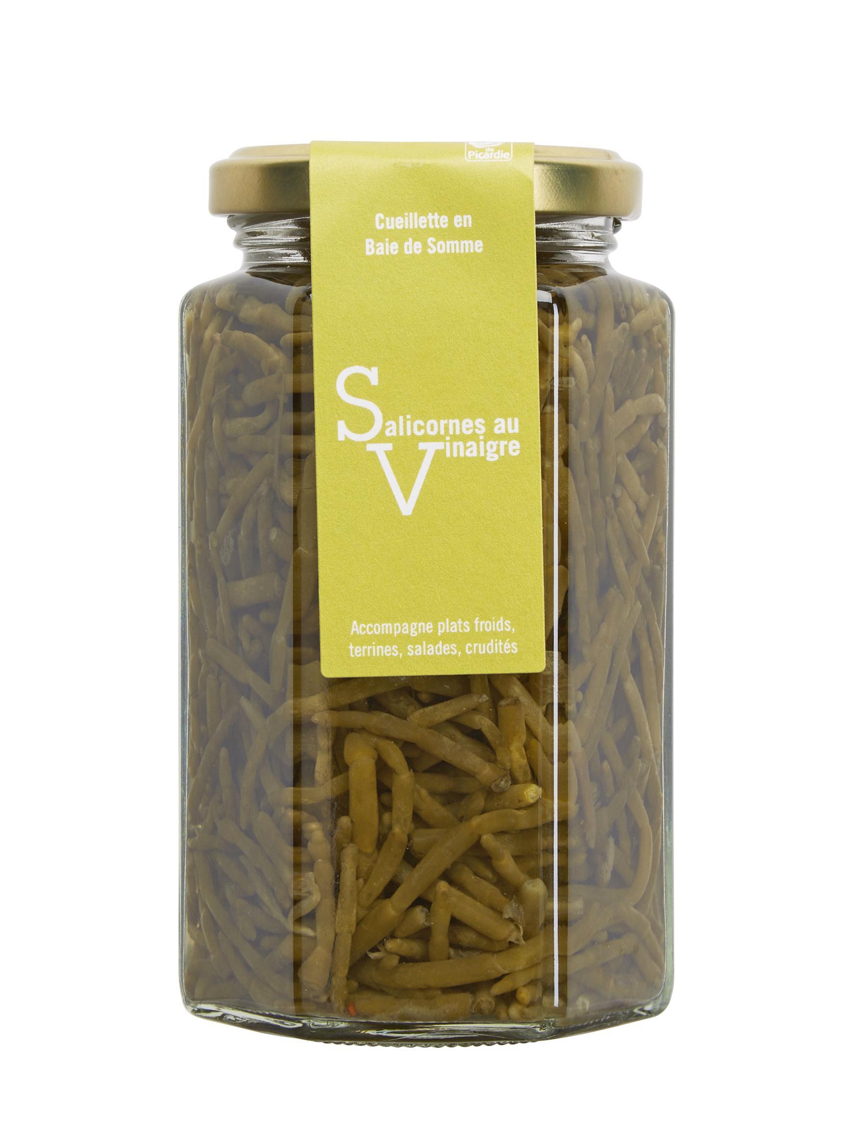 Salicornes au vinaigre de la baie de Somme