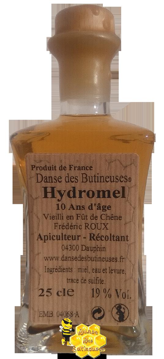 Hydromel 10 Ans d'âge - Alc.19% - 25 cl / Produit de France