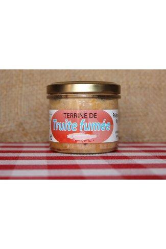 TERRINE DE TRUITE FUMEE