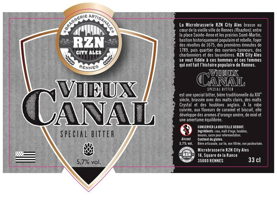 Bière La Vieux Canal