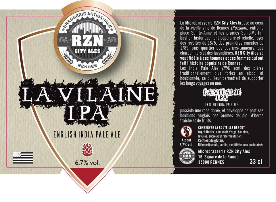 Bière La Vilaine