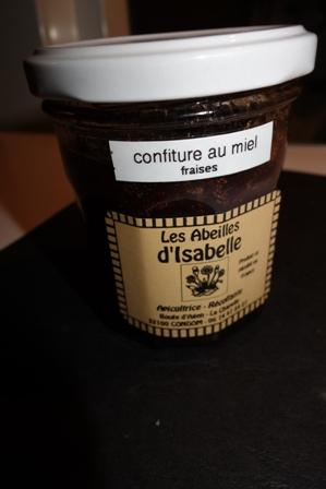 confiture de fruits au miel
