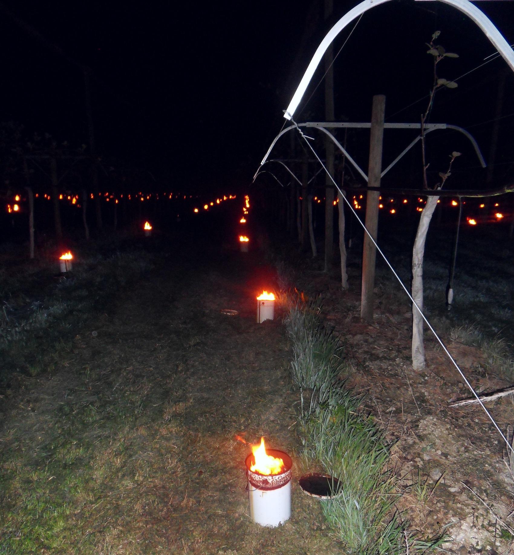 bougies-réchauffantes quand gelées