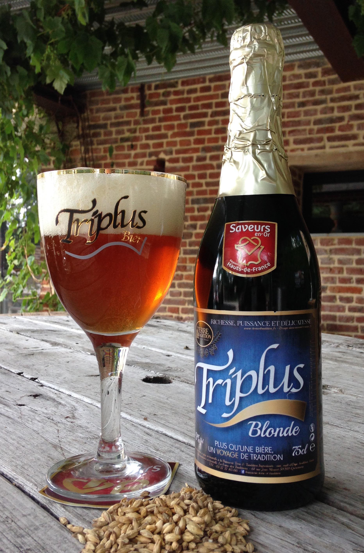TRIPLUS Blonde - Bière Artisanale - 9°