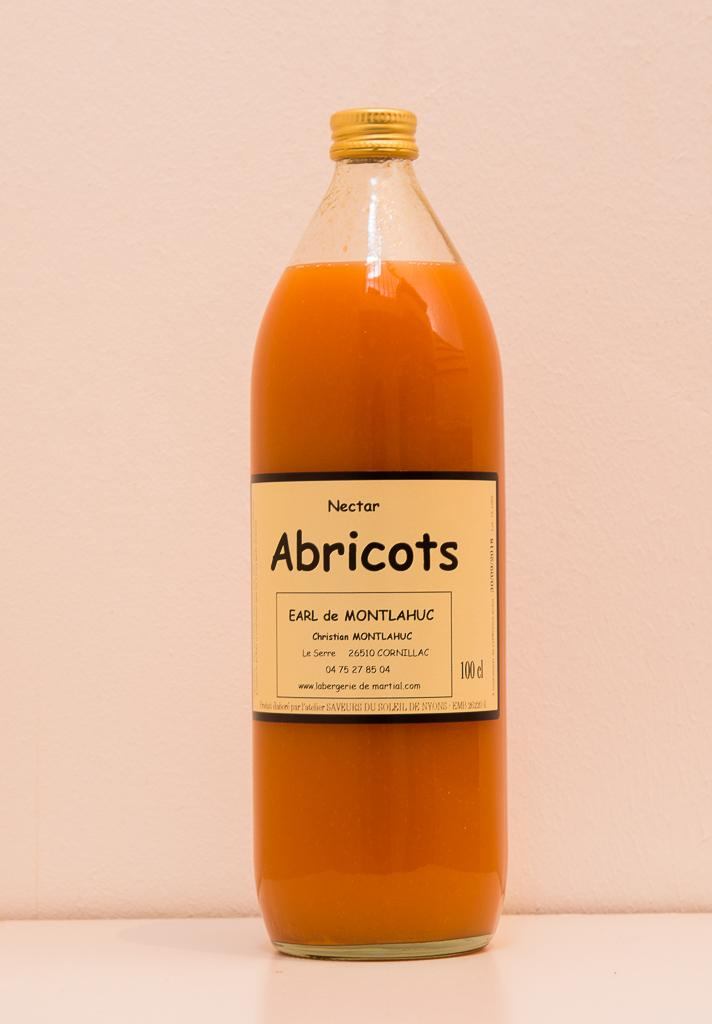 Nectar d'abricots 1 litre