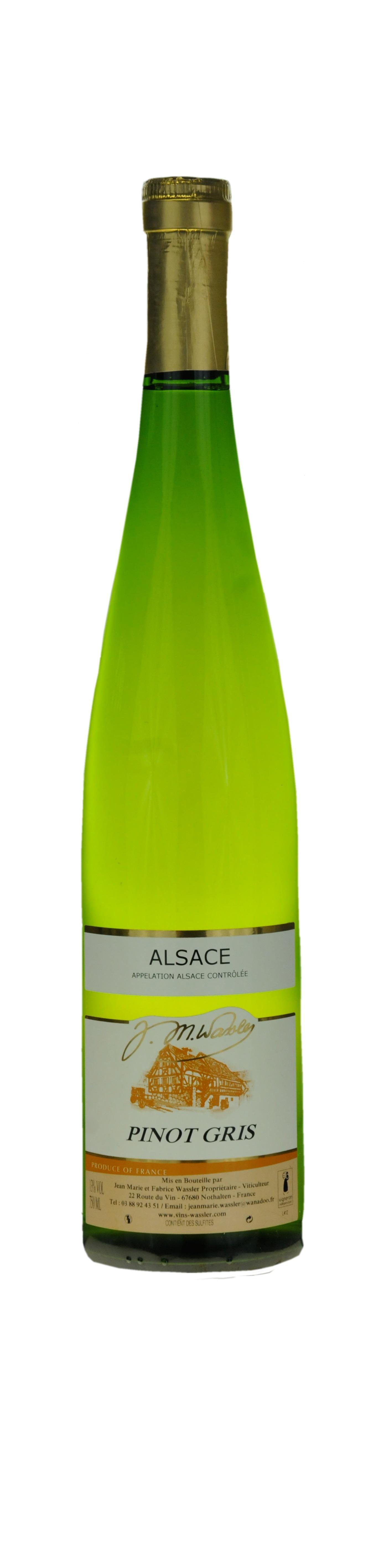 Alsace Pinot Gris 2014Guide Gilbert et Gaillard
