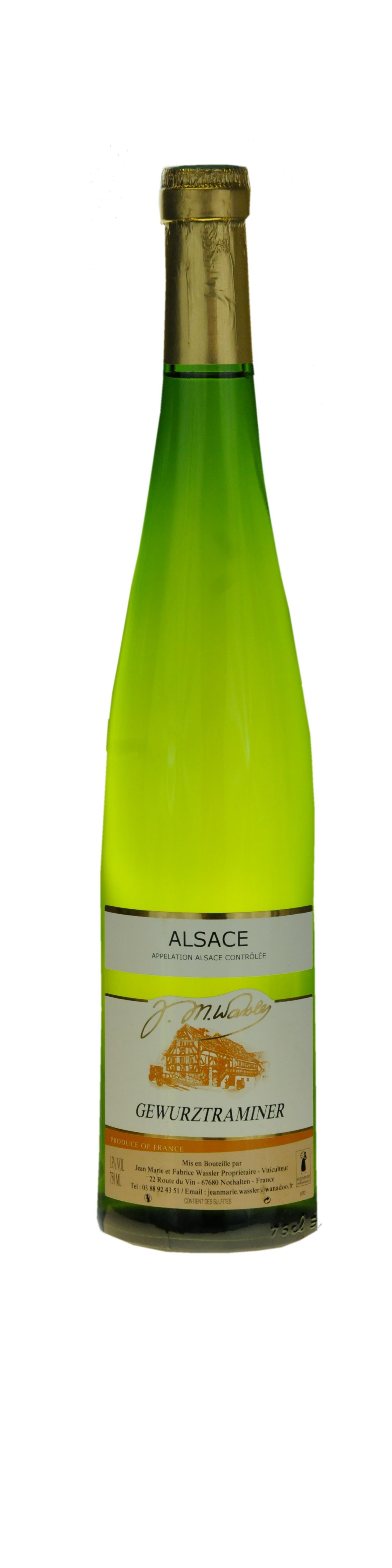 Alsace Gewurztraminer 2014Guide  Gilbert et Gaillard