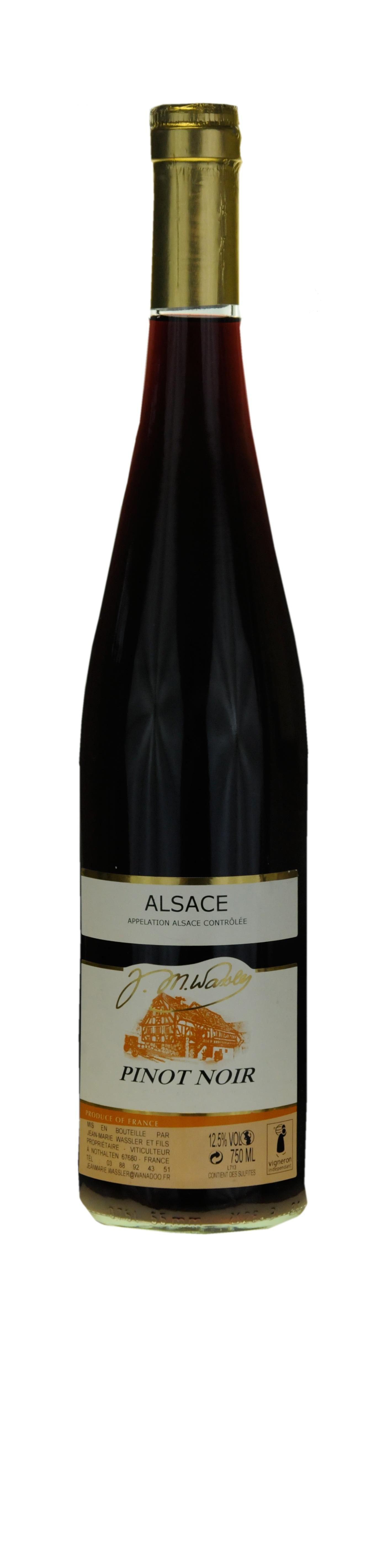 """Alsace Pinot Noir 2015Sélection """"Z"""" Guide Gilbert et Gaillard"""