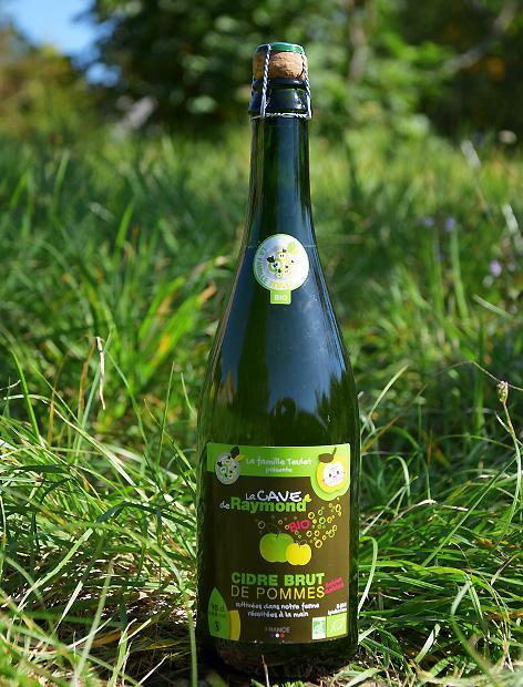 Cidre de pommes BIO BRUT 75CL | La cave de Raymond