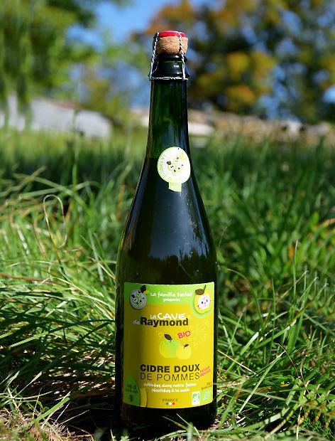 Cidre de pommes BIO DOUX 75CL | La cave de Raymond