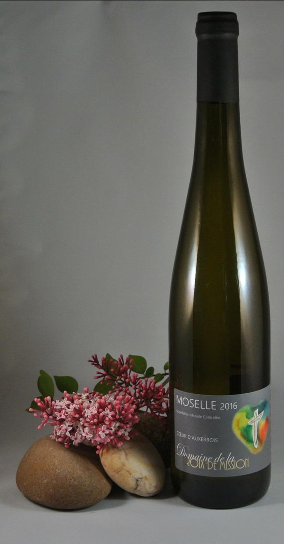 """vin blanc """"Coeur d'Auxerrois"""""""