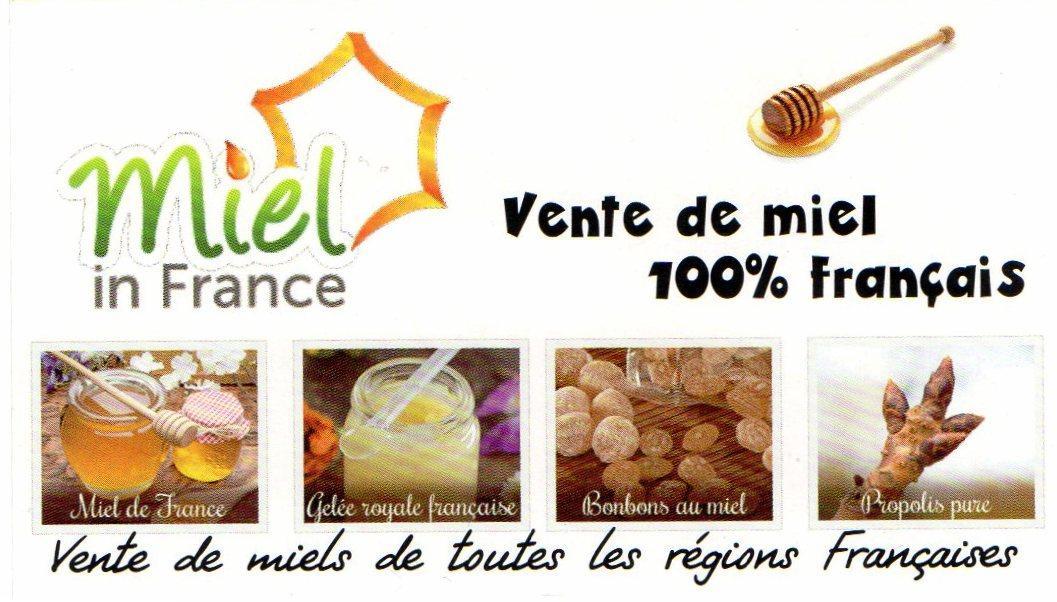 Vente en ligne de miel 100 % Francais