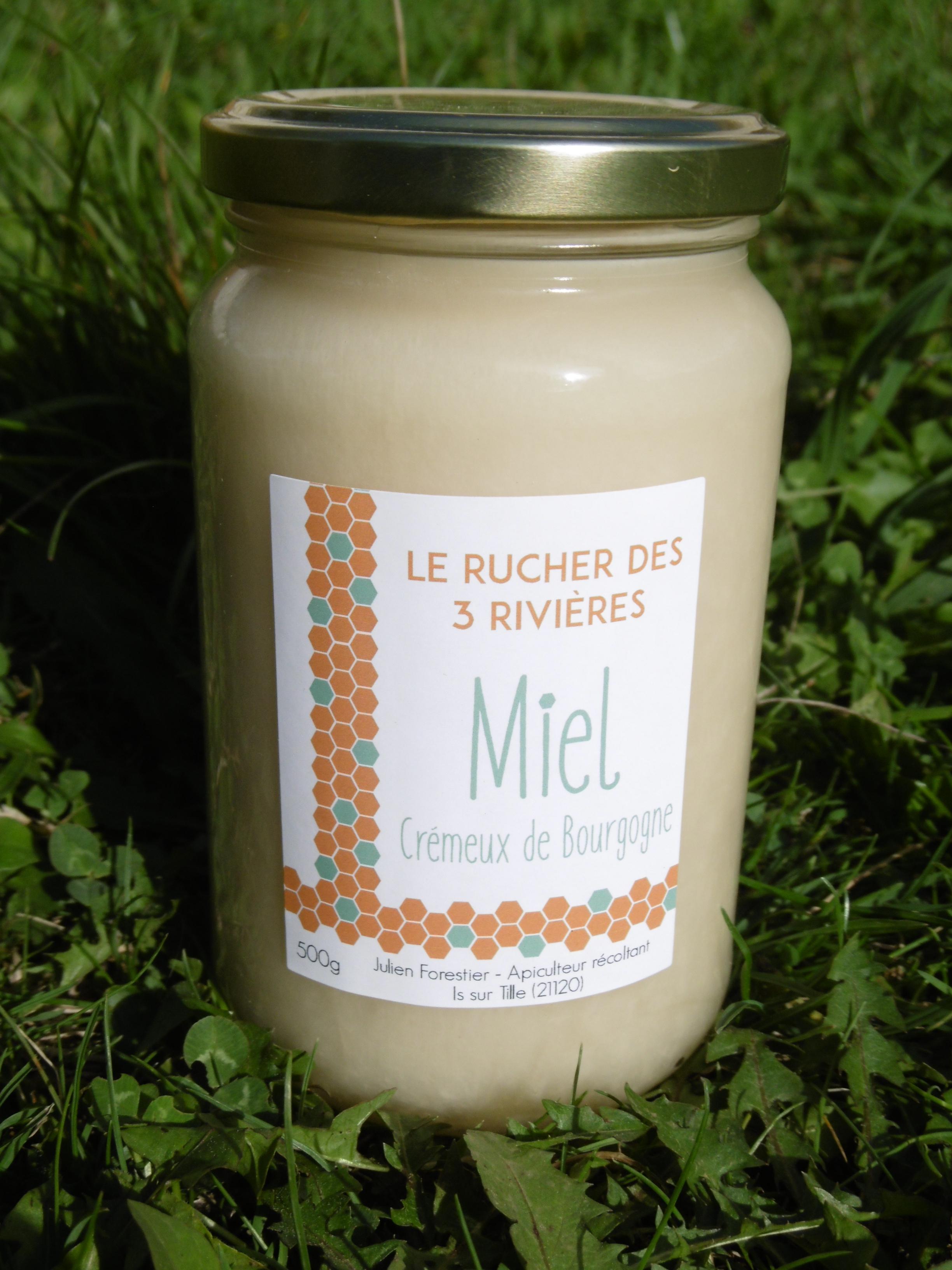 Miel crémeux de Bourgogne