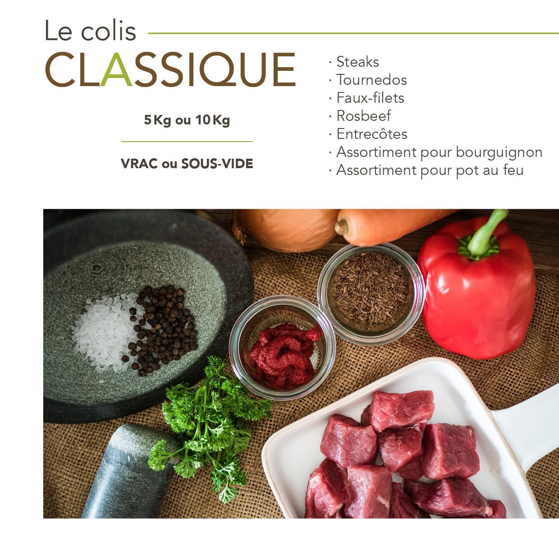 COLIS CLASSIQUE