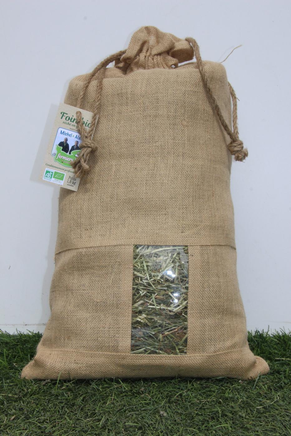 Foin Bio 1,5kg pour professionnels
