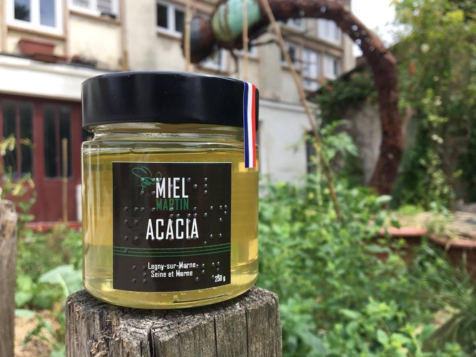 Miel d'acacia de Lagny-sur-Marne