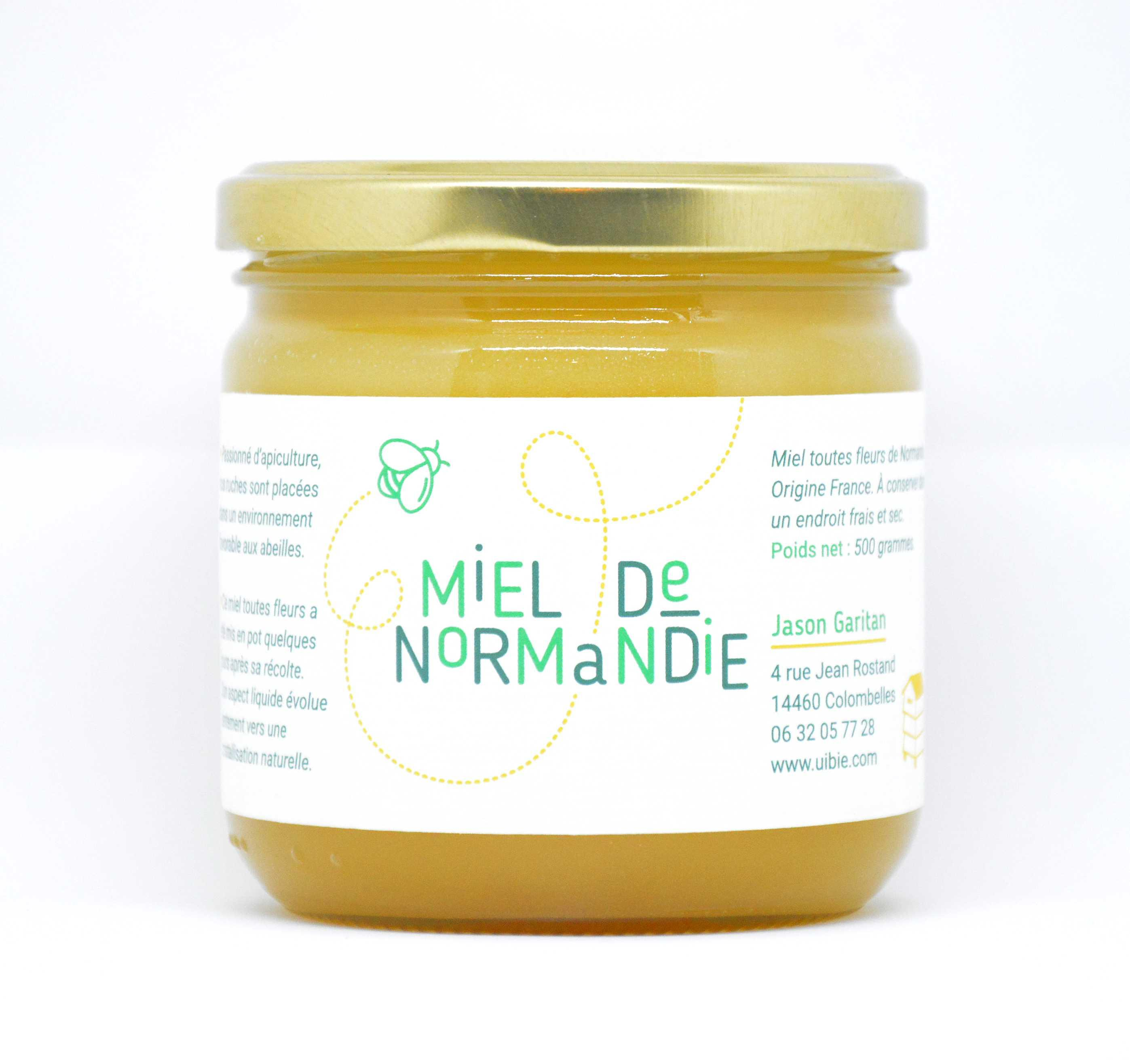 Miel de Normandie (été) 500g