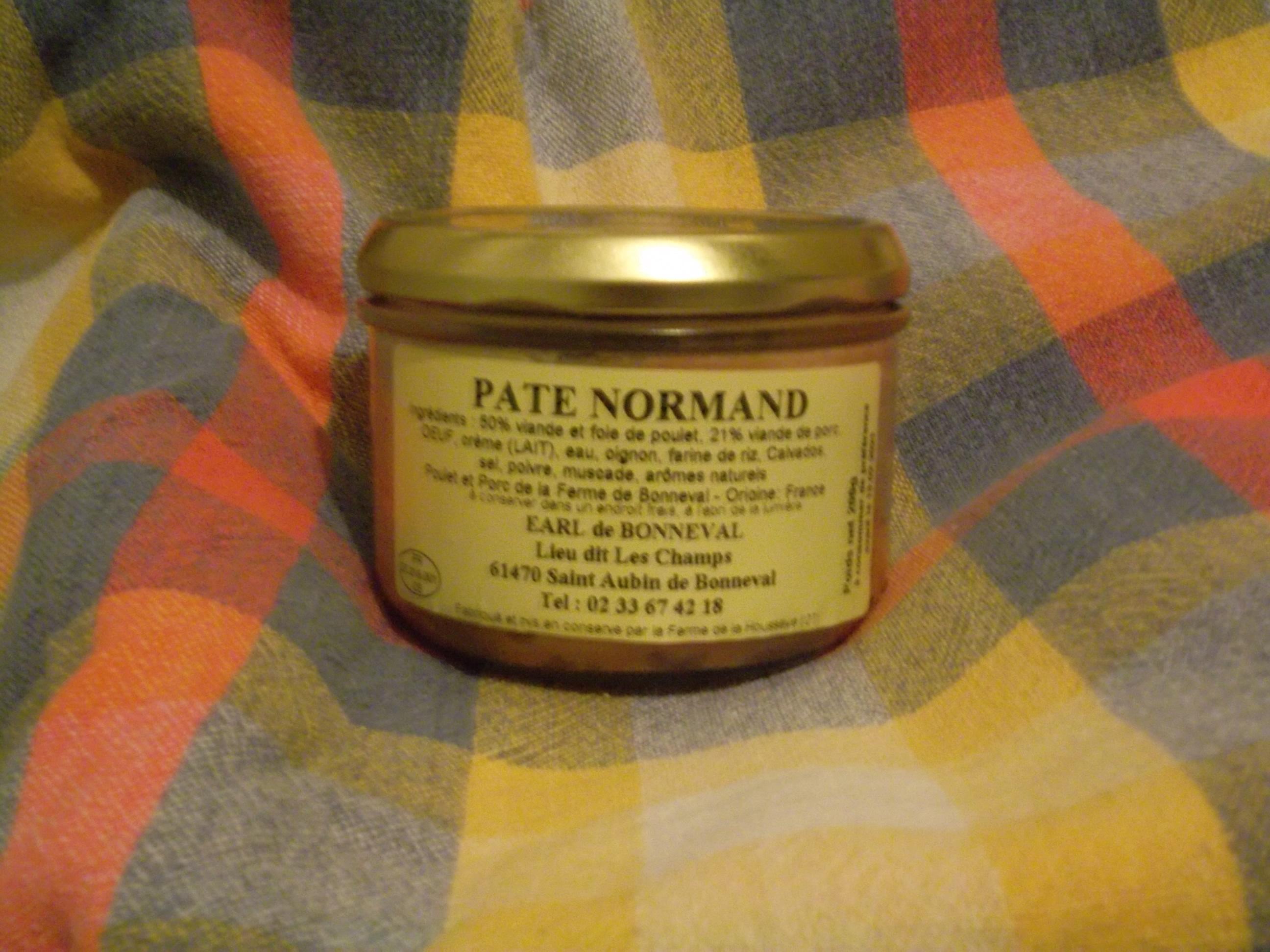 Pâté normand